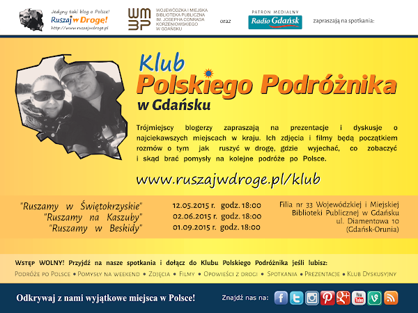 Klub Polskiego Podróżnika Ruszaj w Drogę w Gdańsku