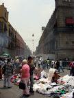 Street Vendors at Zocalo in Mexico City