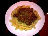 delicatessen de creación propia tipo salsa Bolognese