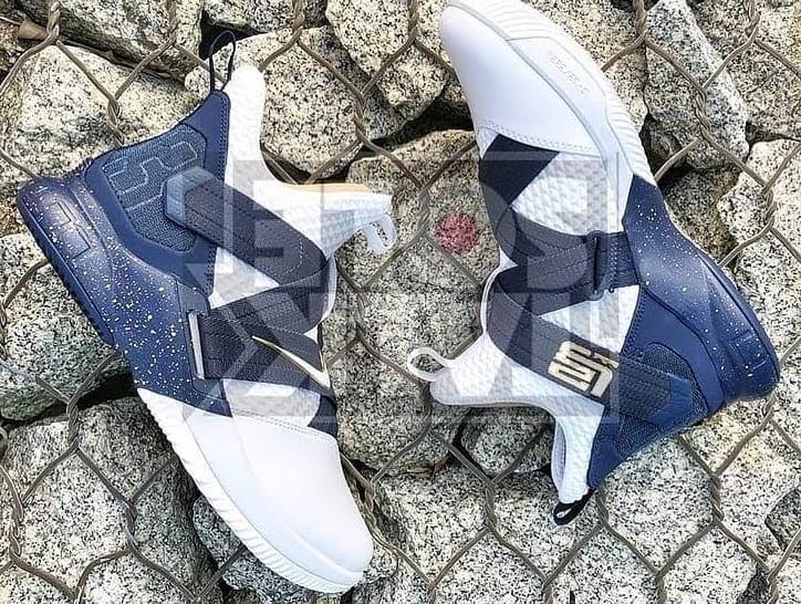 0082587047d92 The OG Zoom Soldier 'Navy' Returns for the Nike LeBron Soldier 12 ...