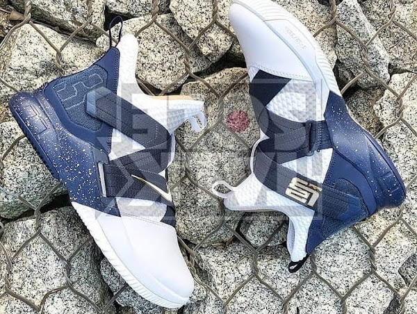 The OG Zoom Soldier Navy Returns for the Nike LeBron Soldier 12
