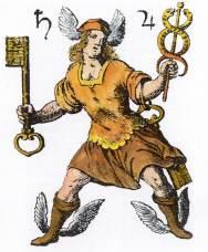 Titlepage Of Hiebner Von Schneebergk Mysterium Sigillorum, Alchemical And Hermetic Emblems 2