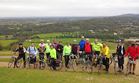 On Box Hill on Sally Doyle's Surrey Hills ride