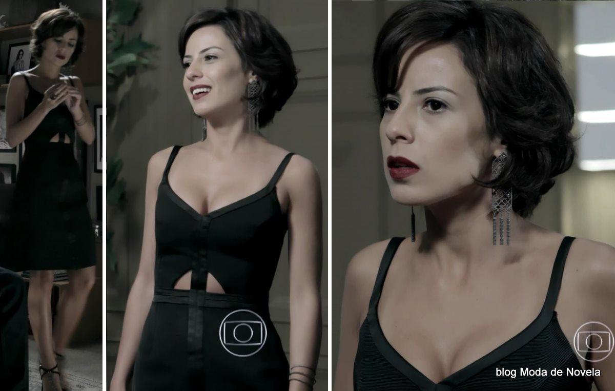 moda da novela Império - look da Maria Clara com vestido festa dia 19 de setembro