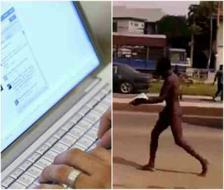 19-year-old boy runs mad and eats grass after visiting babalawo for yahoo plus