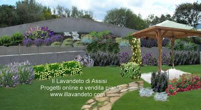 Progetti giardini online gratis progetti giardini privati for Esempi di giardini