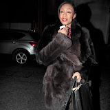 WWW.ENTSIMAGES.COM -  Beverley Knight   arriving at a Fundraising event in aid of Cancer Research UK at The Roof Gardens Kensington High Street, London April 3rd 2013                                                    Photo Mobis Photos/OIC 0203 174 1069