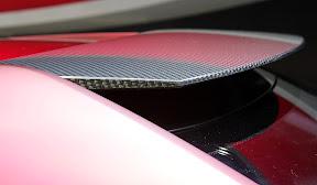 Nissan IDx Nismo Carbon detail