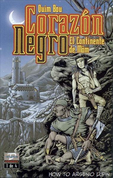 P00001 - Corazon Negro #1