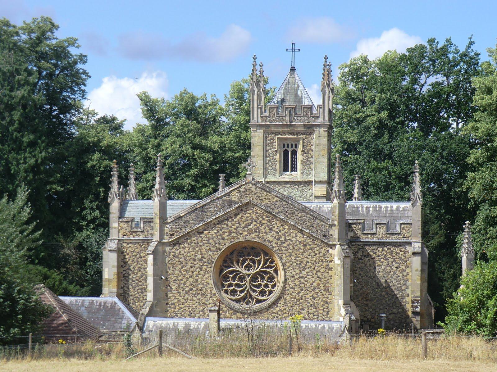 CIMG8270 Catholic Apostolic Church, Albury Park