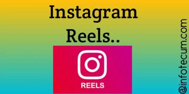 reels on Instagram