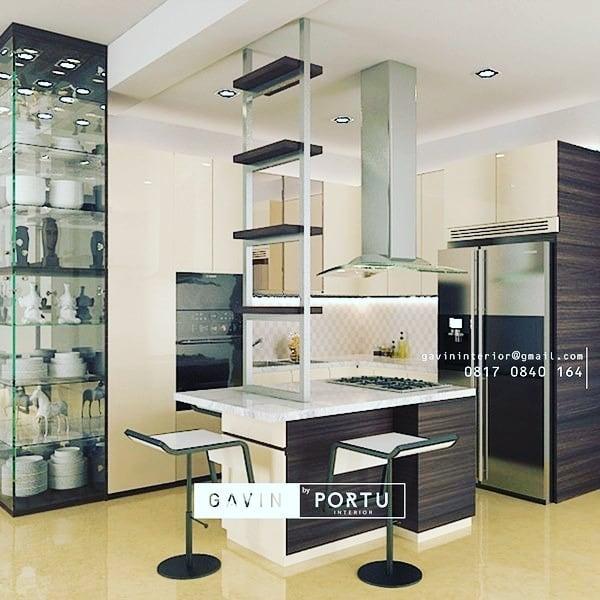 furniture dapur cantik ala cafe