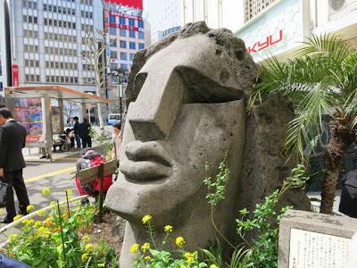 渋谷駅前のモヤイ像