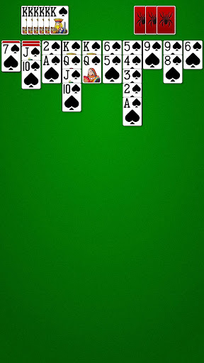 Spider Solitaire  gameplay | by HackJr.Pw 3
