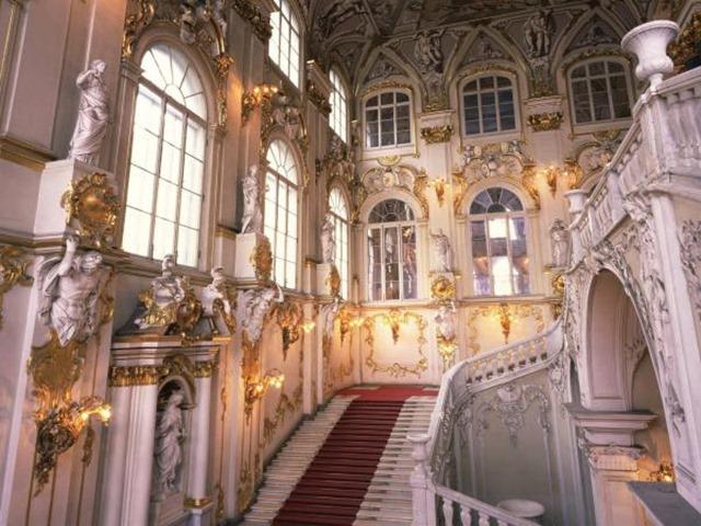 Interior Museo Hermitage, San Petersburgo