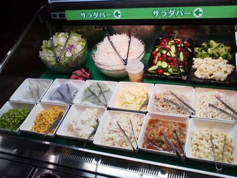 サラダバーコーナー あみやき亭神守店