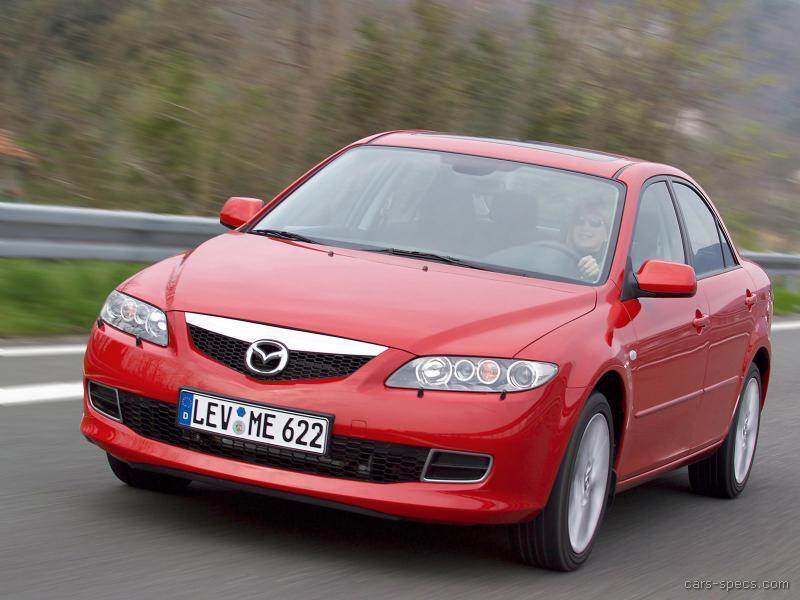 2008 mazda mazda6 sedan specifications pictures prices. Black Bedroom Furniture Sets. Home Design Ideas