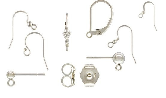 Sterling Silver Components by Jen's Findings