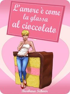 l'amore è come glassa al cioccolato