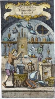 From Nicolas Le Fevre Chymischer Handleiter Und Guldnes Kleinod 1676, Alchemical And Hermetic Emblems 2