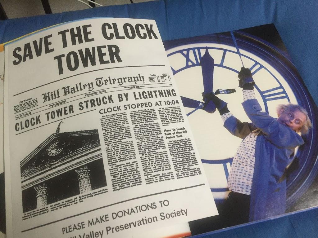 Save the Clocktower leaflet:時計台を守りましょうのちらし