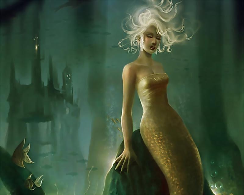 Fine Water Nymph Beauty, Mermaids