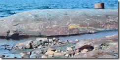 12 reconstitution les pierres de la baie contiennent du fer qui s'oxyde et donne cette couleur particuliere