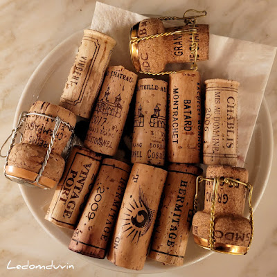 Nice Line up too.. corks of the night by ©LeDomduVin 2021
