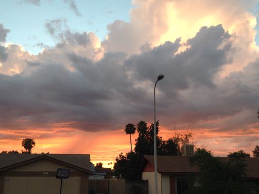 Phoenix Sunset in Monsoon Season