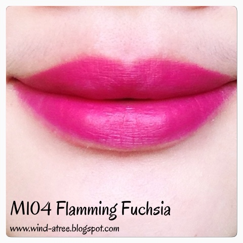 Maybelline Color Show Matte‬ Lipstick Flamming Fuchsia