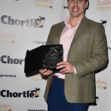 OIC - ENTSIMAGES.COM - Ian Baldry collecting winners for Daisy Earl at the  Chortle Comedy Awards in London 22nd March 2016 Photo Mobis Photos/OIC 0203 174 1069