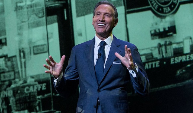 Howard Schultz - Chủ tịch và Giám đốc điều hành Starbucks