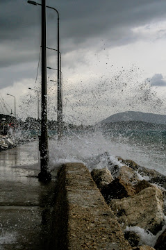 Storm over Lefkada Island Greece