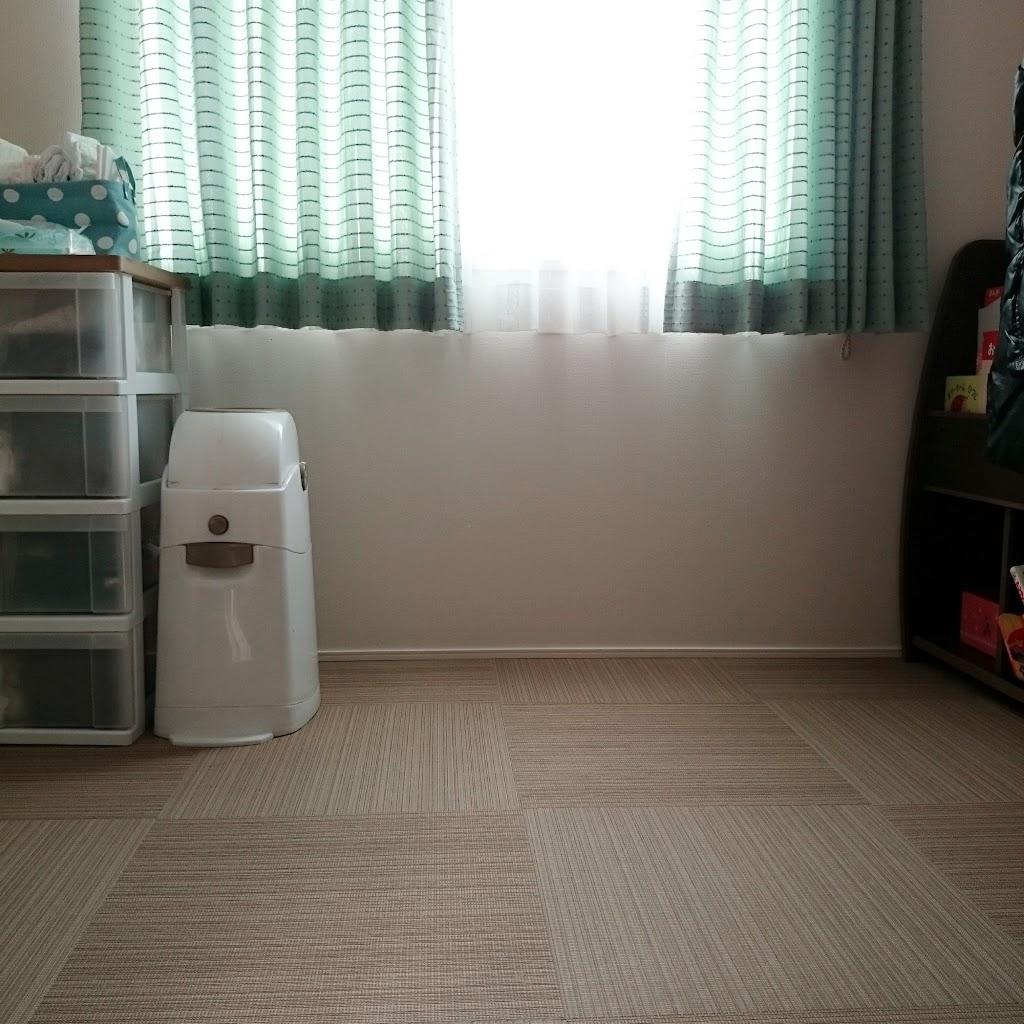和室-カーテン