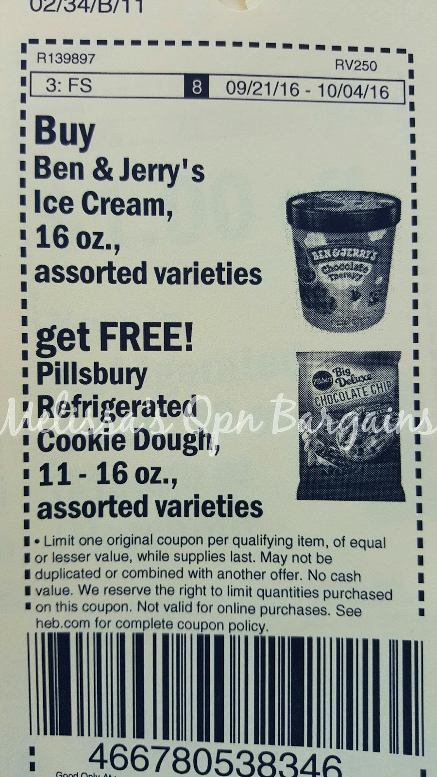 picture regarding Ben and Jerry's Printable Coupons referred to as Melissas Coupon Savings: HEB~ Ben Jerrys Ice Product and