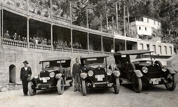Excursión al Balneario de Azuaje (Gran Canaria) 1930