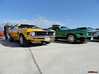 Ford Mustang Yellow and Green