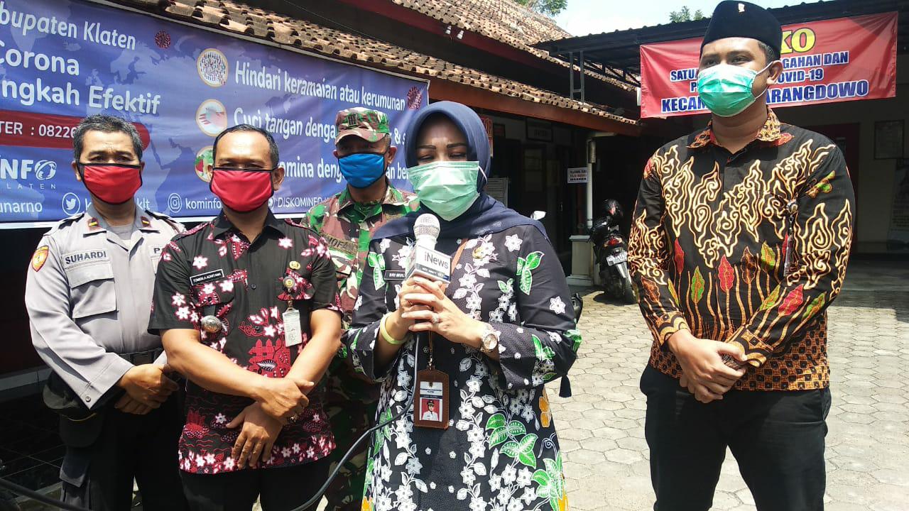KLB dan Dua Kecamatan di Nyatakan Zona Merah, Bupati Sri Mulyani : Tidak Akan Menutup Akses Jalan Yang Melintasi Klaten