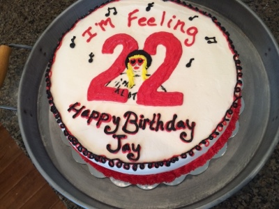 Stupendous Cats Cake Creations Taylor Swift 22 Birthday Cake Funny Birthday Cards Online Inifodamsfinfo