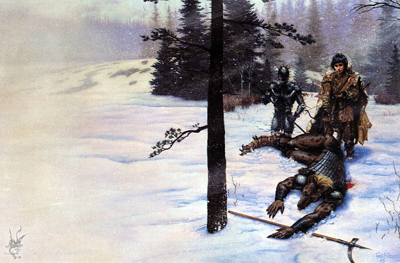 Snow Fields, Fantasy Scenes 1