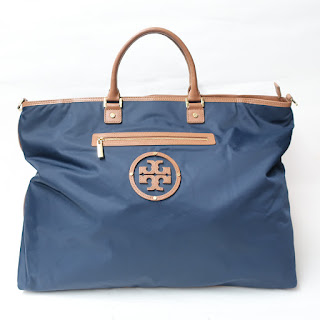 Tory Burch Oversized Logo Travel Tote