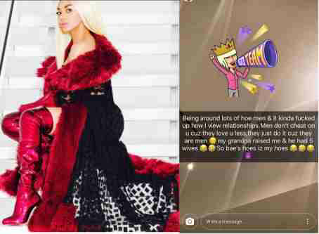 Dencia explains why she won't leave her man over cheating
