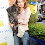 WWW.ENTSIMAGES.COM -  Claire Forlani   arriving at       A Date With Your Dog in Honour of Clarissa Baldwin OBE at George Club, London September 9th 2014Celebrities attending The Dog's Trust party in honour of their chief exec Baldwin.                                                 Photo Mobis Photos/OIC 0203 174 1069