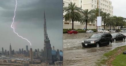 Ντουμπάι : Δημιουργούν τη δική τους βροχή με τη χρήση τεχνολογίας drone για να αντιμετωπίσουν την ξηρασία