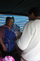 Saludo Día de la Madre en la Feria Libre