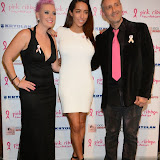 WWW.ENTSIMAGES.COM -    Lisa Allen, Delilah and Filippo ioco  at      Filippo iOco's PINK London 2014 at Gilgamesh, The Stables Market, LondonSwiss body painter iOco throws official London launch party for Breast Cancer Awareness Month. The night is sponsored by Kryolan, and featues a fine art and body painting showcase, with all proceeds going to the Pink Ribbon Foundation.                                                Photo Mobis Photos/OIC 0203 174 1069