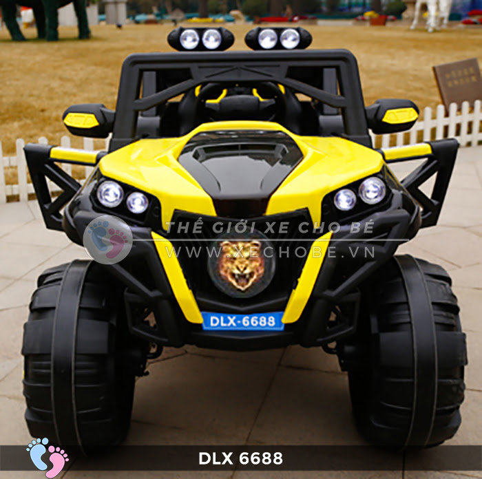 Xe điện địa hình cho bé DLX-6688 4