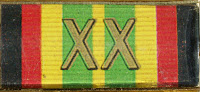 148 Medaille für treue Dienste in der Nationale Volksarmee für 20 Dienstjahre www.ddrmedailles.nl