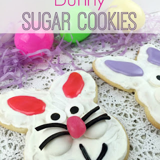 Bunny Sugar Cookies.
