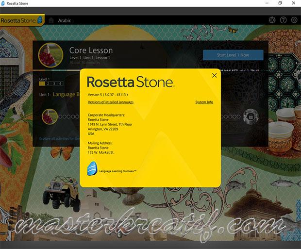 rosetta stone 5 full crack
